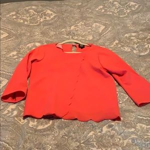Nordstrom Hot pink blouse